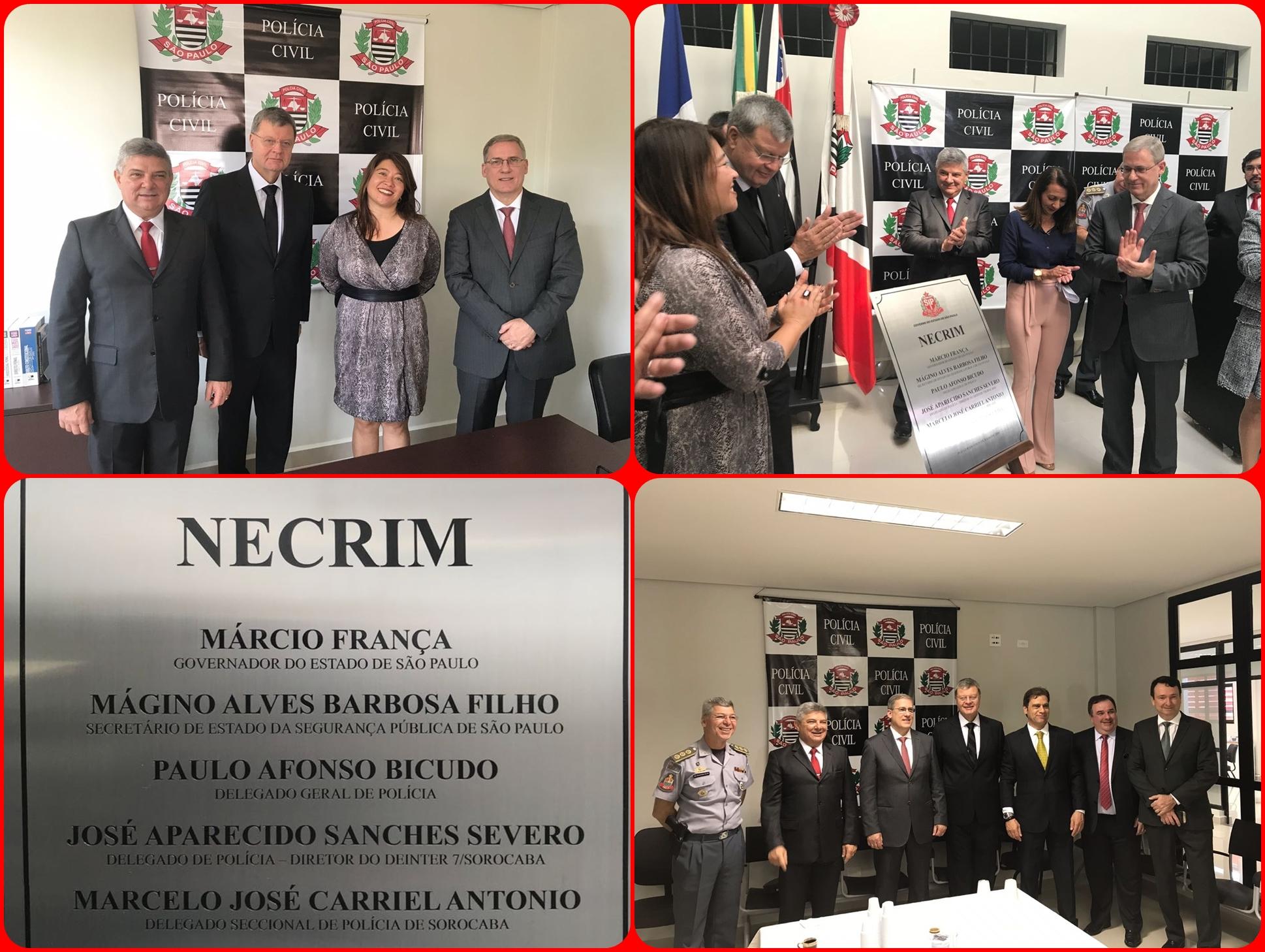 Inauguração do Necrim de Mairinque