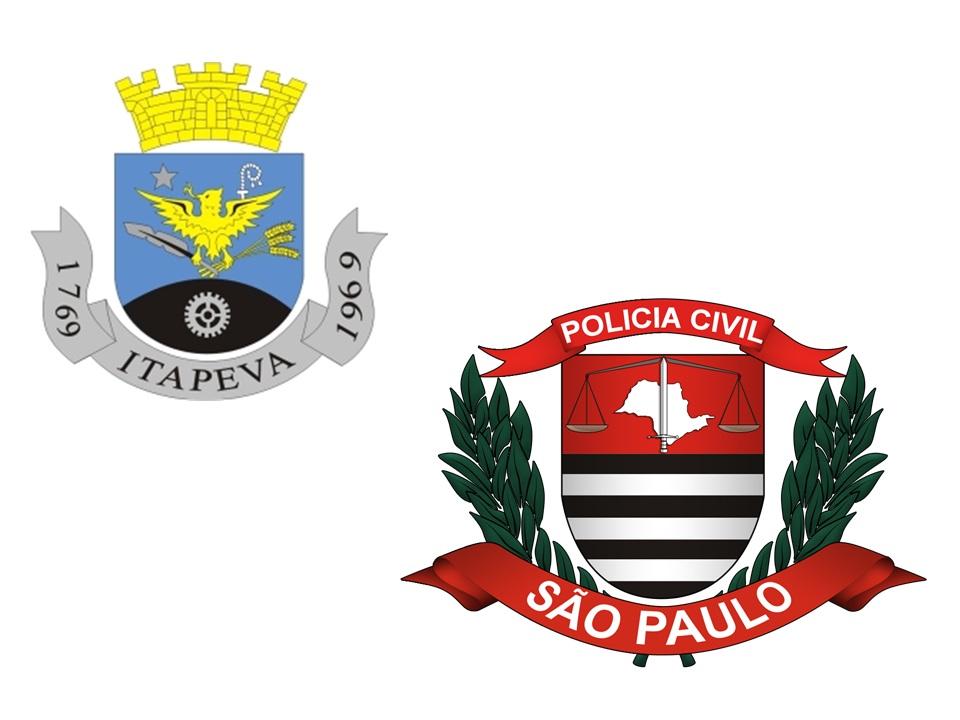 Brasão de São Caetano do Sul e Brasão da PC