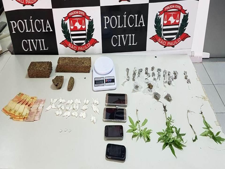 drogas apreendidas pela Dise de São José dos Campos