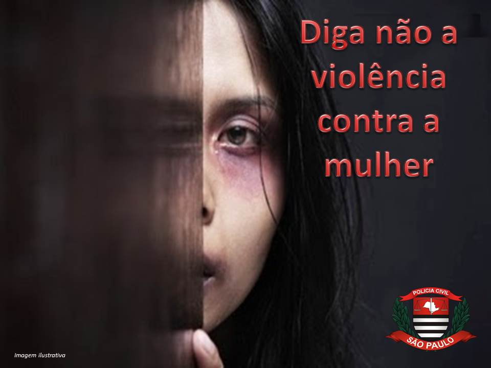 Imagem ilustrativa mulher agredida