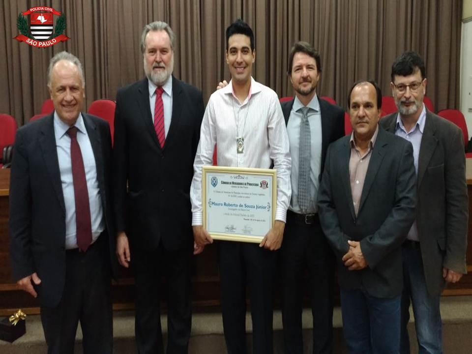 Homenagem a Mauro Roberto na Câmara Municipal de Piracicaba