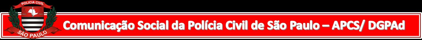 Nota de Rodapé Comunicação Social da Polícia Civil de São Paulo