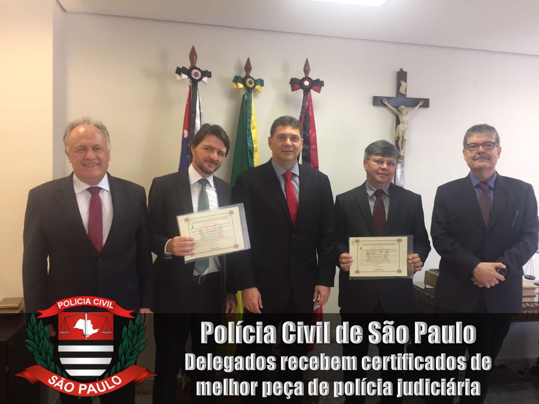 delegados agraciados com os certificados